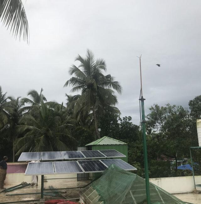 Karunakaran , Ramavarmapuram, Thrissur. 3 kW